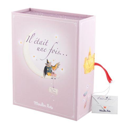 Moulin Roty Kinder-Erinnerungs-Box Geburt Il etait une Fois