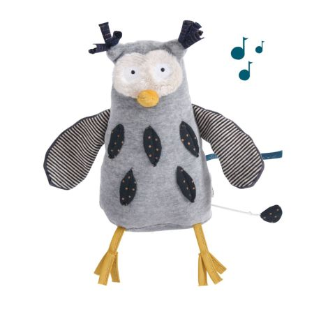 Moulin Roty Musik-Puppe Eule
