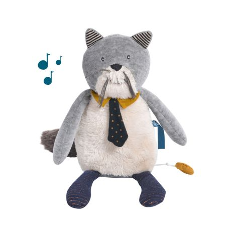 Moulin Roty Musik-Puppe Katze