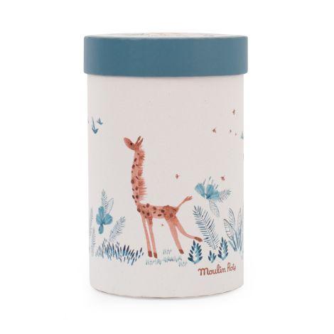 Moulin Roty Plüschtier Giraffe Bibiscus