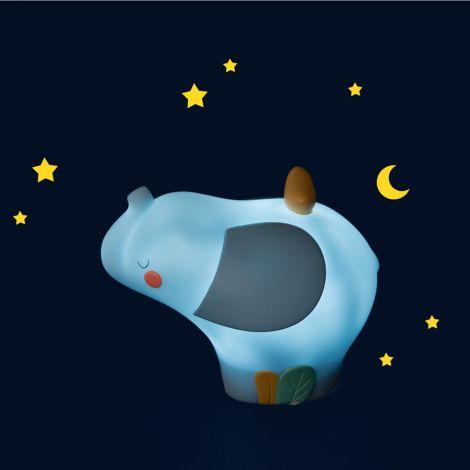 Moulin Roty Nachtlicht Elefant aufladbar mit USB
