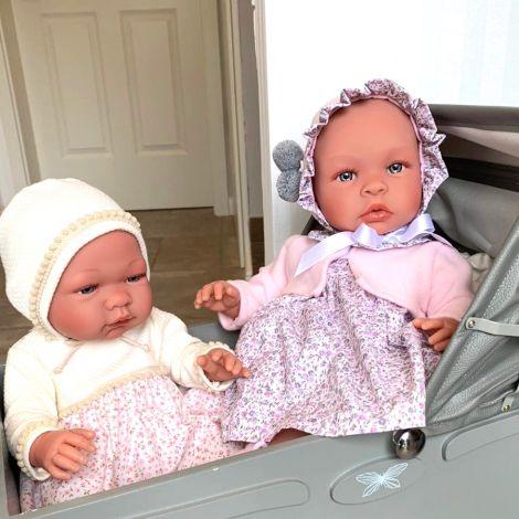 Asi Dolls Puppe Maria Beiges/Blumenkleidchen