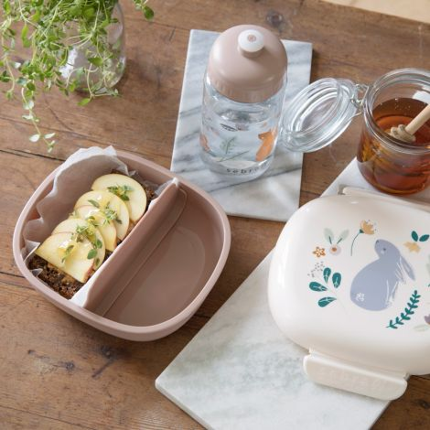 Sebra Lunchbox Brotdose mit Trennwand Daydream