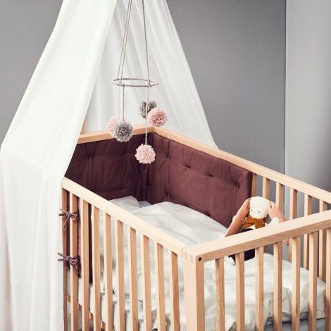 Leander Nestchen für Linea Babybett Soft pink