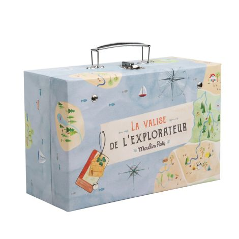 Moulin Roty Explorer-Koffer mit Zubehör