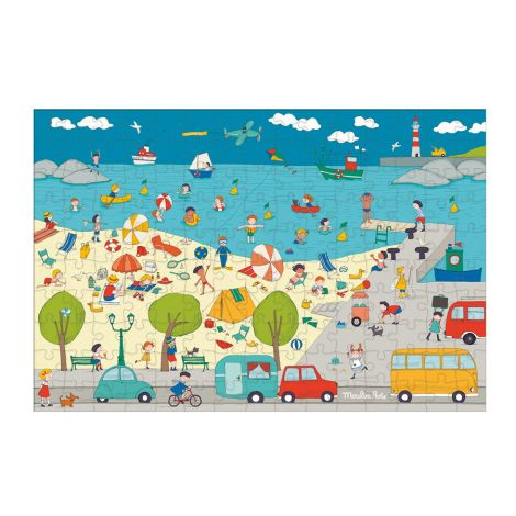 Moulin Roty Puzzle Am Meer 150 Teile