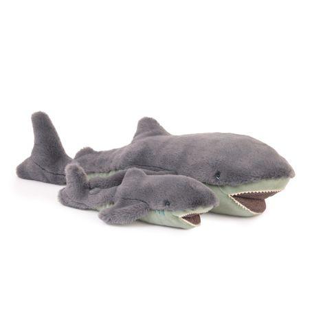 Moulin Roty Plüschtier großer Hai
