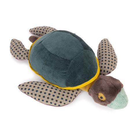 Moulin Roty Plüschtier große Schildkröte