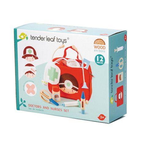 Tender Leaf Toys Arztkoffer Rot