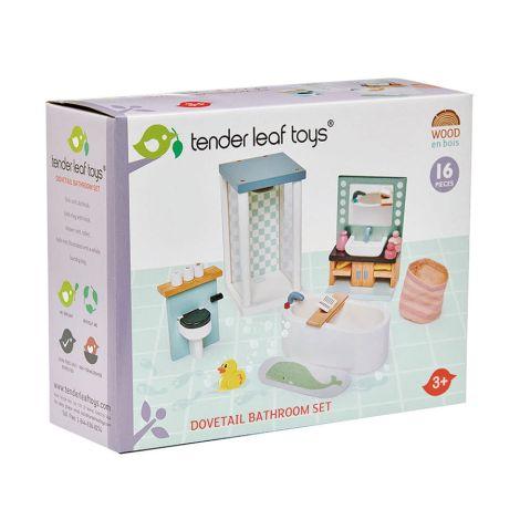 Tender Leaf Toys Badezimmer für Puppenhaus