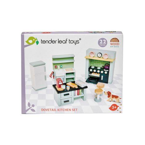 Tender Leaf Toys Küchenmöbel für Puppenhaus