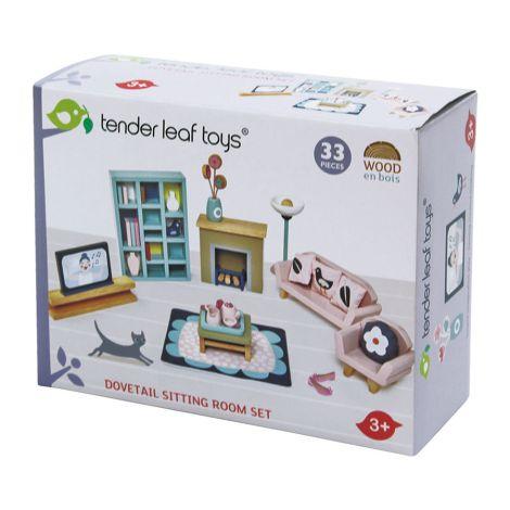Tender Leaf Toys Wohnzimmer für Puppenhaus