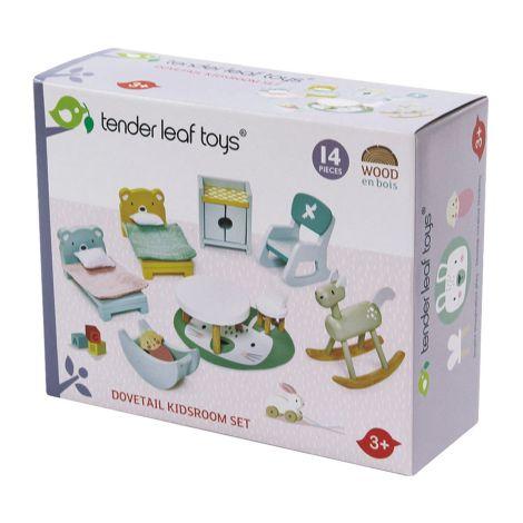 Tender Leaf Toys Kinderzimmer für Puppenhaus