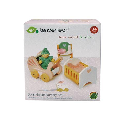 Tender Leaf Toys Kinderstube für Puppenhaus