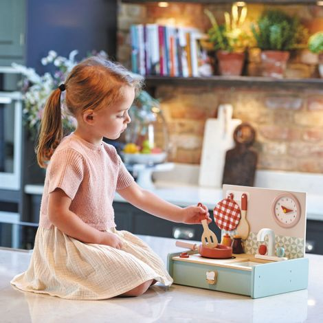 Tender Leaf Toys Kinderküche Klein