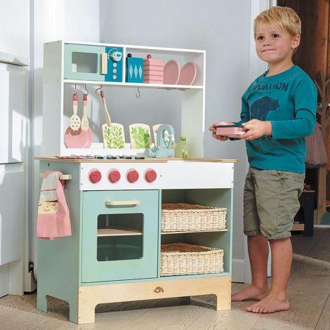 Tender Leaf Toys Kinderküche Grün Groß