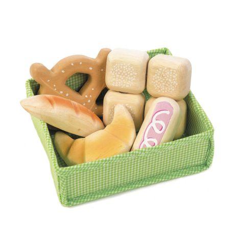Tender Leaf Toys Brote für Marktstand