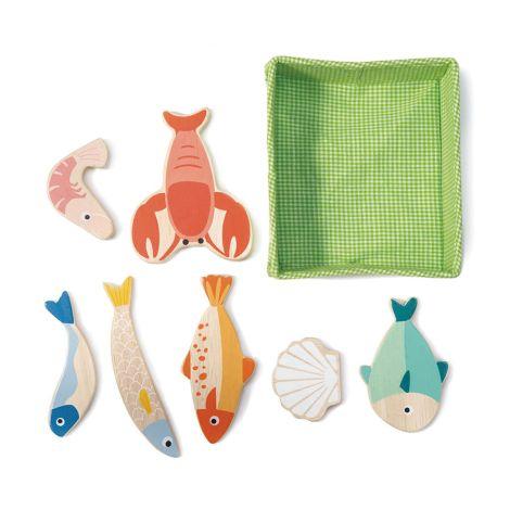 Tender Leaf Toys Fische für Marktstand