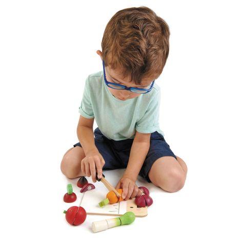 Tender Leaf Toys Schneidebrett & Gemüse