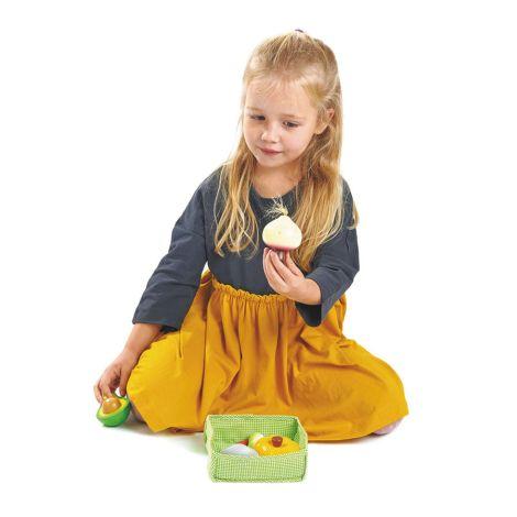 Tender Leaf Toys Gemüse für Marktstand