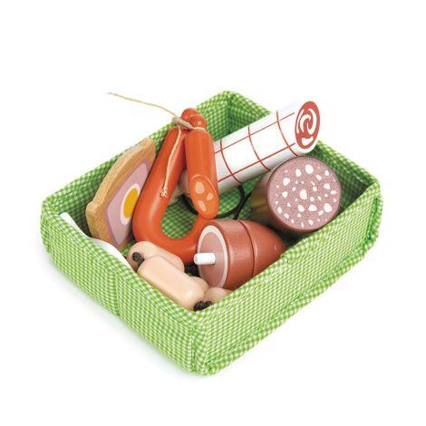Tender Leaf Toys Fleisch für Marktstand