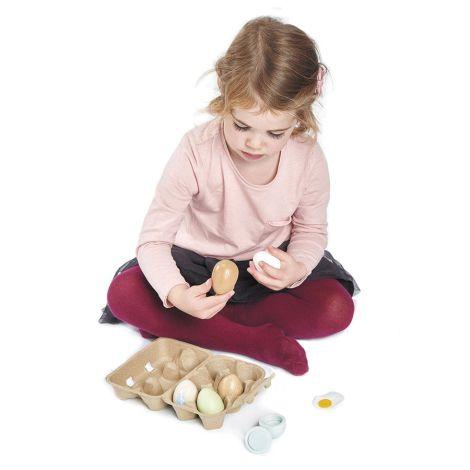 Tender Leaf Toys Eier für Marktstand