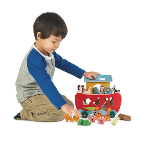 Tender Leaf Toys Steckspiel Arche Noah