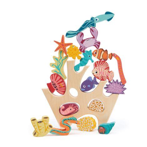 Tender Leaf Toys Stapelspiel Korallenriff