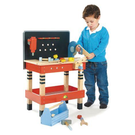 Tender Leaf Toys Werkbank Groß