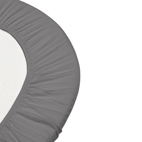 Leander Laken für Babybett Cool Grey 2er-Set
