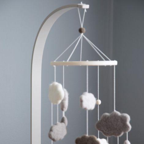 Sebra Mobile-Halter Holz Grey