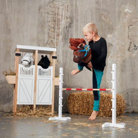 by ASTRUP Spielzeug-Hindernis Hobby Horse Springreiten