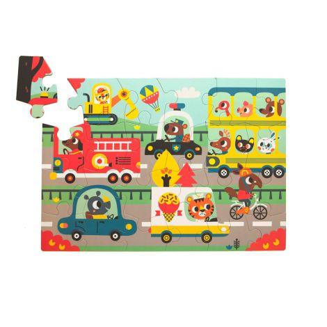 Petit Monkey Puzzle Straße 24 Teile