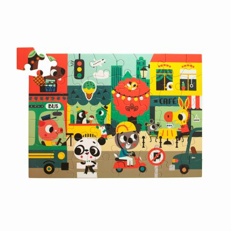 Petit Monkey Puzzle Stadt 48 Teile