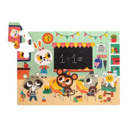 Petit Monkey Puzzle Schule 24 Teile