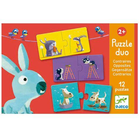Djeco Duo-Puzzle Gegensätze