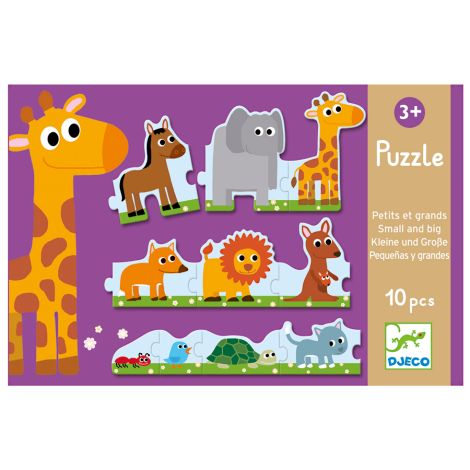 Djeco Puzzle Groß & Klein