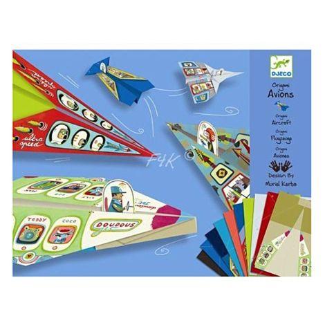 Djeco Origami Papierflieger