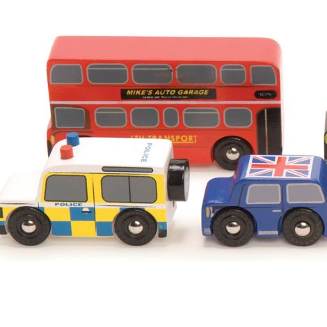 Le Toy Van Spielautos The London Cars Set