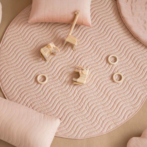 Nobodinoz Teppich Kiowa 105X105 Bloom Pink