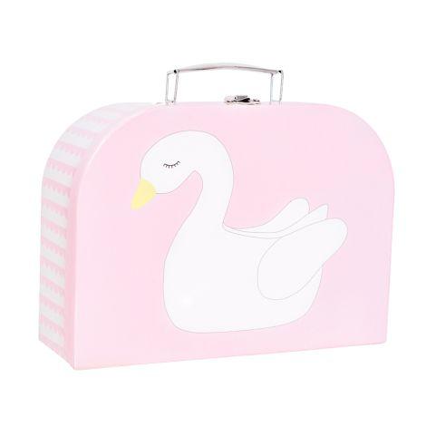 JaBaDaBaDo Koffer Schwan Flamingo 2er-Set