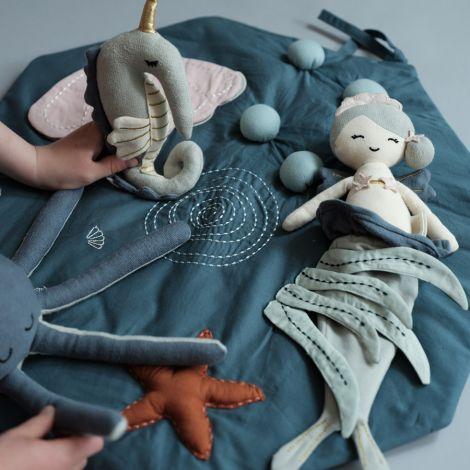 Fabelab Puppe Mermaid Bio-Baumwolle