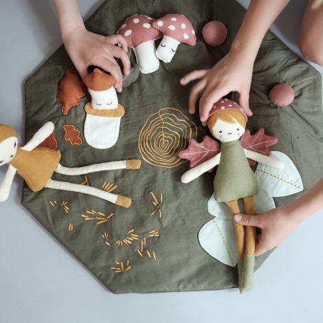 Fabelab Puppe Forest Elf Bio-Baumwolle