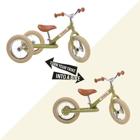 Trybike Laufrad Steel Black Trike Umbau-Kit
