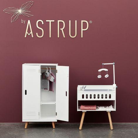 by ASTRUP Puppen-Kleiderschrank Weiß