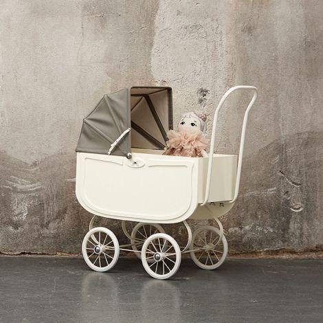 byASTRUP Puppenwagen Vintage Cream