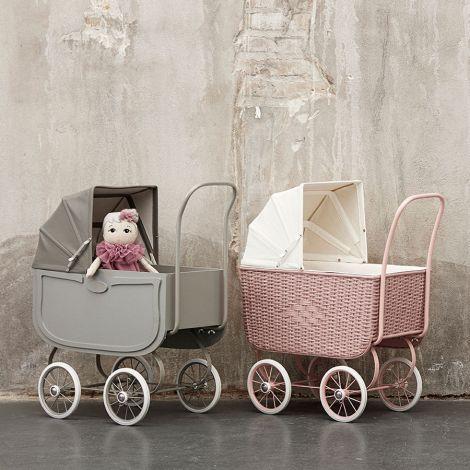 by ASTRUP Puppenwagen Vintage Grey