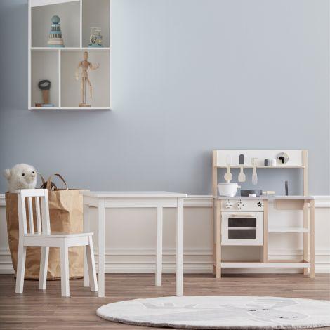 Kids Concept Teppich Edvin Elch Handgeknüpft Ø 120 cm