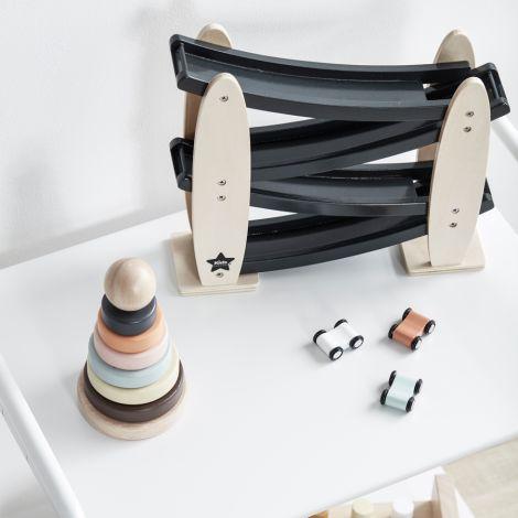 Kids Concept Kugelbahn mit Autos Natur