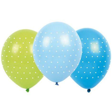 JaBaDaBaDo bunte Luftballons mit Punkten 6 Stk.